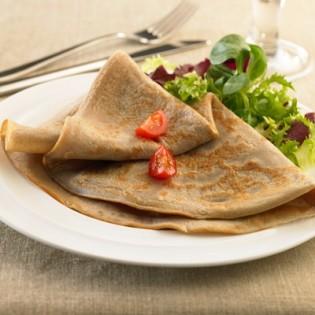 Booster buckwheat pancake