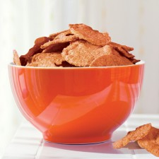 Barbecue soy crisps