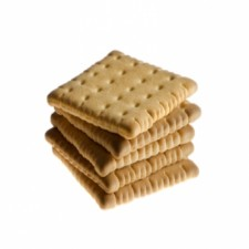 "Pack of 3 booster plain ""petit beurre"" biscuits"