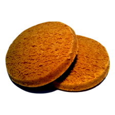 Pack of 2 caramel sponge biscuits