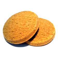 Pack of 2 vanilla sponge biscuits