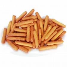 Mini sesame breadsticks